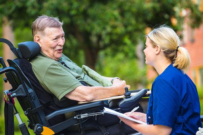 På Mälargården får du rehabilitering som kan förändra din vardag