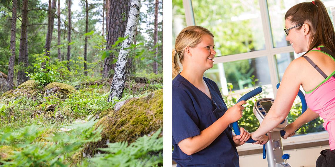 Mälargården rehab center ms-programmet