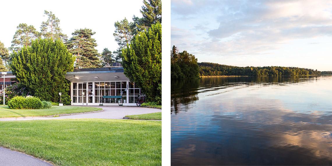 Mälargården rehab center om Mälargården