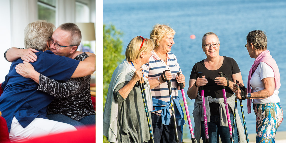 Mälargården rehab center onkologi-programmet