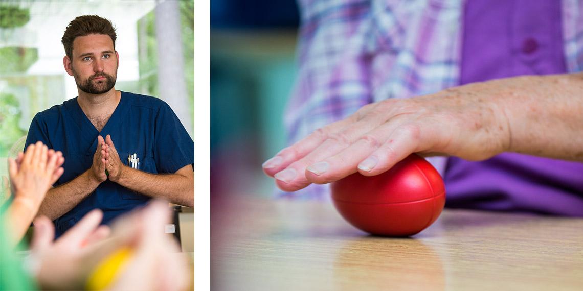 Mälargården rehab center parkinsonprogrammet