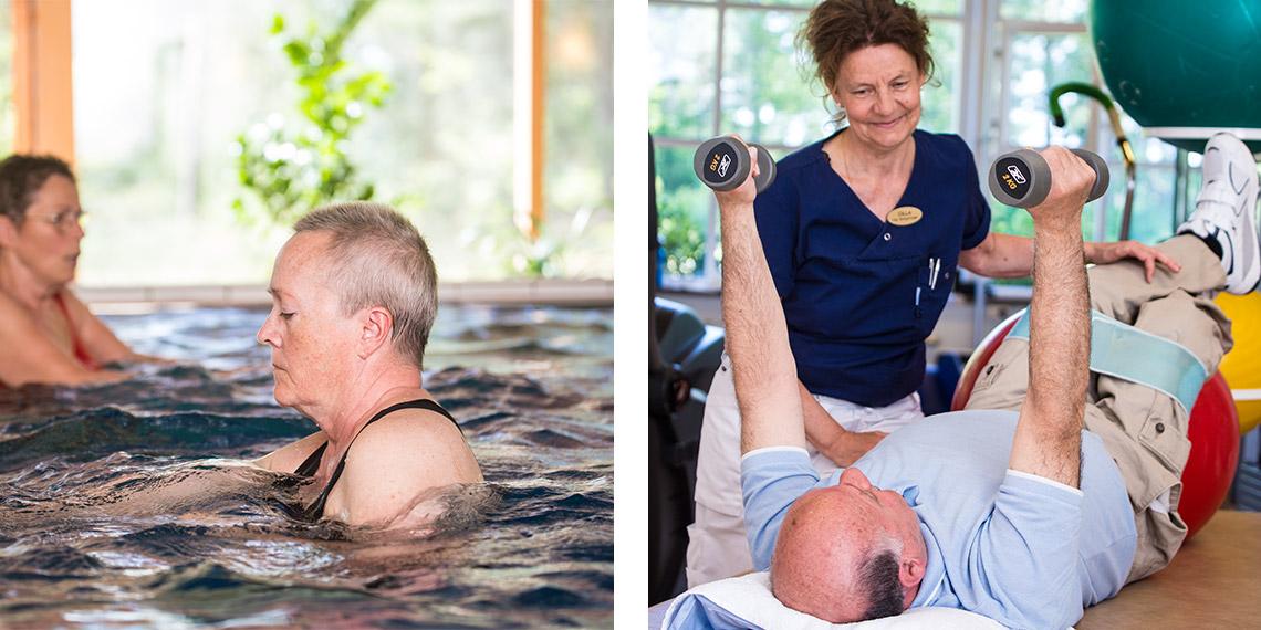 Mälargården rehab center sjukgymnastik